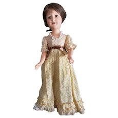 "Gorgeous 1930's Ideal 21"" Deanna Durbin Doll"