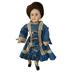 Beautiful Antique Gerbruder Kuhnlenz 32_28 Bisque Head Doll 19""