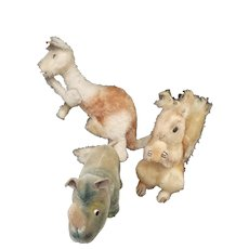 Vintage 1950's Steiff Animal lot