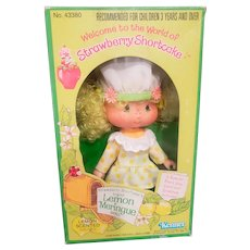 1980 Kenner Strawberry Shortcake Foreign Lemon Meringue Doll NRFB