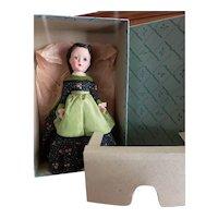 "Minty 1950's Madame Alexander 14"" Little Women Marme Doll Mint in Box"