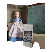 "Minty 1950's Madame Alexander 14"" Little Women Amy Doll Mint in Box"