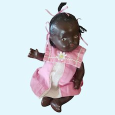 "Cute 10"" Vintage Composition Baby Doll"