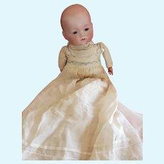Vintage Bisque Head Armand Marseille Dream Baby Doll