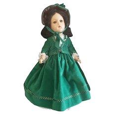 "1939 Madame  Alexander 14"" Composition Scarlett O'Hara Doll"