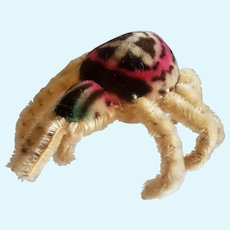 """1960's Steiff Mohair Largest Spidy the Spider 9"""""""