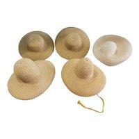 Vintage Madame Alexander Nylon Woven Hat Lot for Alexander-kin's