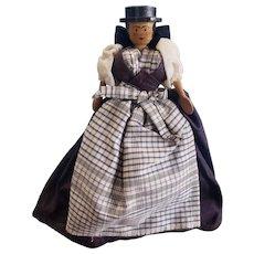 Vintage Wooden Wood Salzburg Peg Grodnerntal Doll