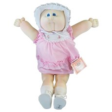 "Vintage Xavier Roberts 22"" Soft Sculpture Cabbage Patch Doll Fannie Eunice"