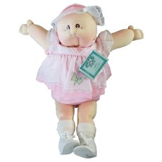"Vintage Xavier Roberts 22"" Soft Sculpture Cabbage Patch Doll Isabel Winifred"