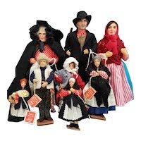 Vintage Jay of Dublin Huge Doll Lot