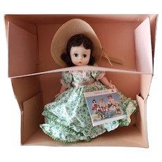 "Vintage Madame Alexander 8"" Scarlett O'Hara #725 Bent Knee Doll"