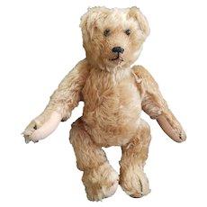 """Vintage 11"""" Mohair Rothschild Teddy Bear Edith the Lonely Doll Companion"""