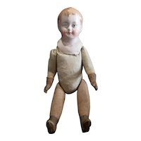 """Early 1900's Paper Mache & Rubber Doll Made in Bavaria 13"""""""
