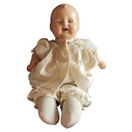1920's E.I. Horsman Composition Baby Dimples Doll