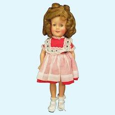 "1957 Ideal 12"" Vinyl Shirley Temple Doll"