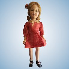 "Very Pretty 1930's Ideal 20"" Deanna Durbin Doll"