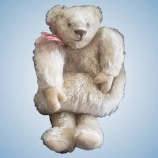 Fantastic Vintage Mohair Teddy Bear Muff