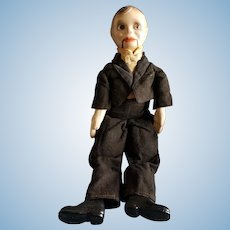 """Vintage 19"""" Composition Charlie McCarthy Doll"""