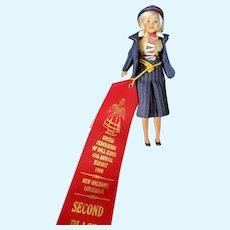 "Neat Vintage British Airways 7"" Promotional Fashion Doll"