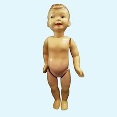 """Vintage 15"""" Celluloid Character Boy Doll"""