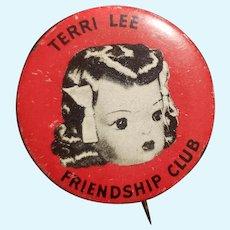 Vintage 1950's Terri Lee Doll Pin