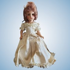 Very Pretty 1940's Composition Madame Alexander Doll