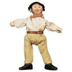 Vintage Schoenhut Humpty Dumpty Hobo Doll with Professional Repaint