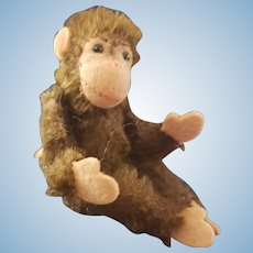 1940's Steiff U.S. Zone Monkey Chimp w Button