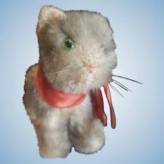 Vintage Steiff Tabby Mohair Kitty Cat