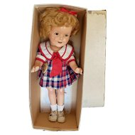 "Fantastic 1934 Ideal Shirley Temple 13"" in Original Box"