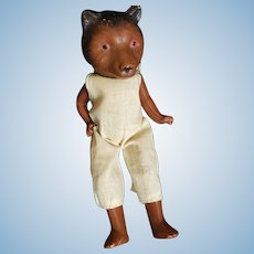 1930's Freundlich Composition Big Bad Wolf Doll 9 1/2""