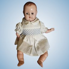 "Vintage 1950's Madame Alexander Baby Genius Doll 11 1/2"""