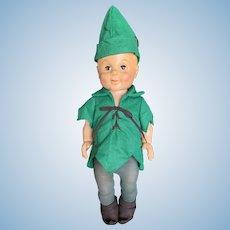 """Vintage 1960's Sayco 21"""" Peter Pan Doll"""