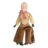 Interesting 1950's One of a Kind Cowboy Doll