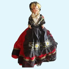 "Fabulous Vintage 17"" Celluloid Doll"
