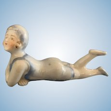 Vintage Bisque Bathing Beauty Doll