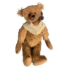 "Mohair Teddy Bear Artist Mac Pohlen 10"" Teddy Bear"