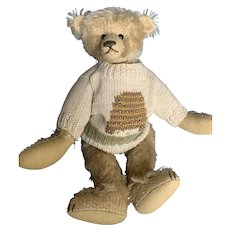 "Mohair Teddy Bear Artist Mac Pohlen 15"" Teddy Bear"