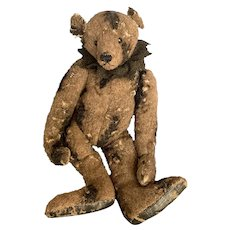 Artist Terry John Woods Antiqued Raggedy Teddy Bear 16""