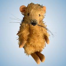 "Adorable Teddy Bear Artist Christine Bevern 8"" Mohair Rat"