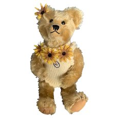 "Teddy Bear Artist Carrousel Michaud 15"" Mohair Teddy Bear"