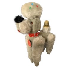 Adorable 1950's Poodle Tape Measure 8""