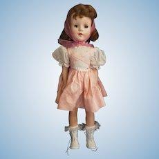 """Pretty 1950's American Character Sweet Sue Walker Doll 18"""""""