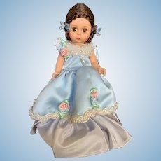 "Vintage Madame Alexander 8"" Meg's Ballgown Doll"