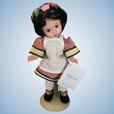 "Vintage Madame Alexander Cherry Girl 8"" Doll"