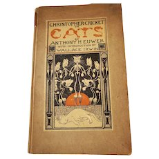 Ultra Rare Book Christopher Cricket on Cats Anthony H. Euwer