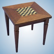 Vintage Artisan Crafted Game Table for the Dollhouse