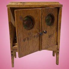 Dollhouse Dark Oak Radio Cabinet