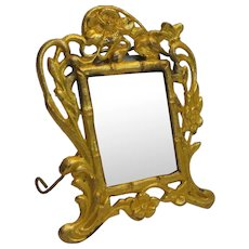 Ormolu Art Nouveau Dollhouse Picture Frame